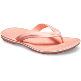 Crocs Crocband Flip Sandals Unisex melon/white